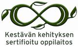 kestävän kehityksen sertifikaatin logo