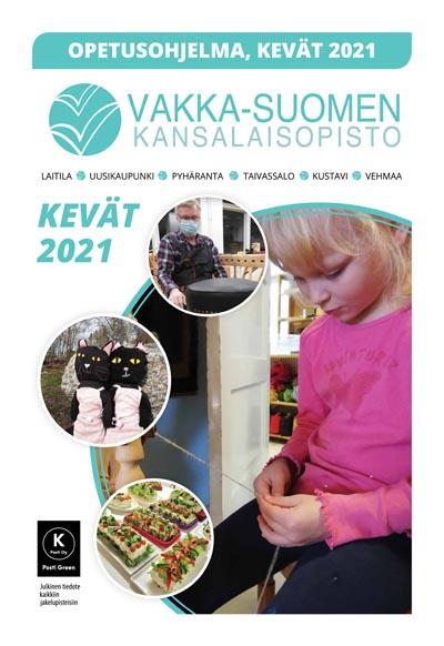 Vakka-Suomen Kansalaisopiston kevätohjelma 2021